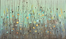 Always and Forever by Jo Starkey - Original painted on Silk on Board sized 39x24 inches. Available from Whitewall Galleries